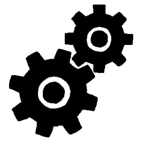 Icône logo mots technos