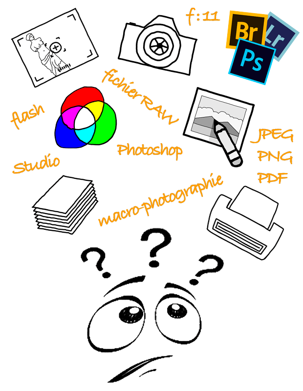 formation cours photographie chaîne graphique