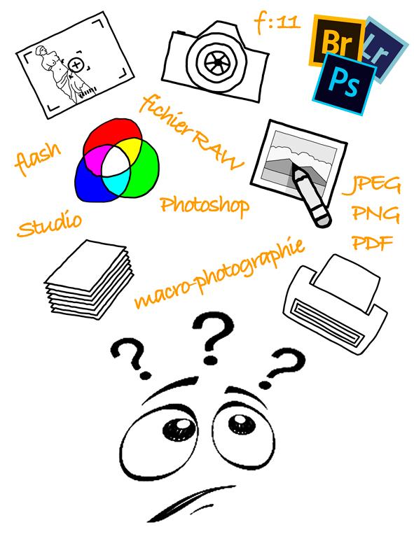 creation graphique logo theme chromie formation atelier photo gaya