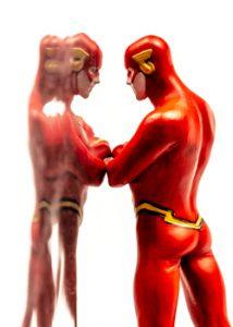 reflet figurine flash formation atelier photo gaya