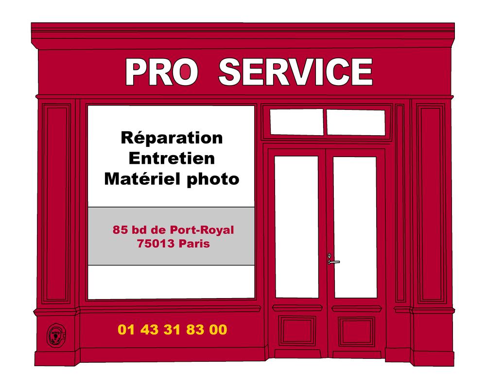 Lien boutique partenaire ProService réparateur matériel photo