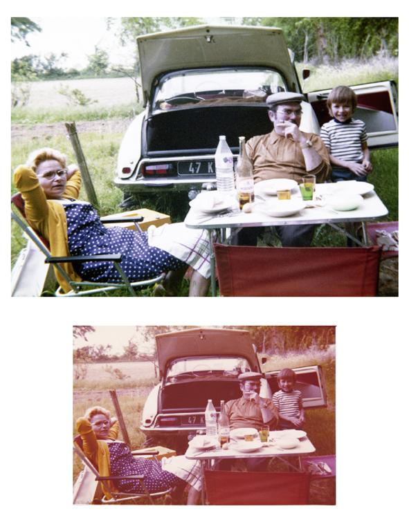 restauration photo ancienne abimée retouche photo atelier photo gaya