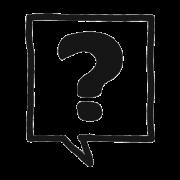 icône logo faq foire aux questions