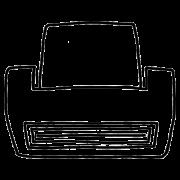 icône logo impression imprimante jet d'encre