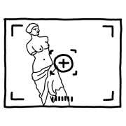 icône logo prise de vue shooting